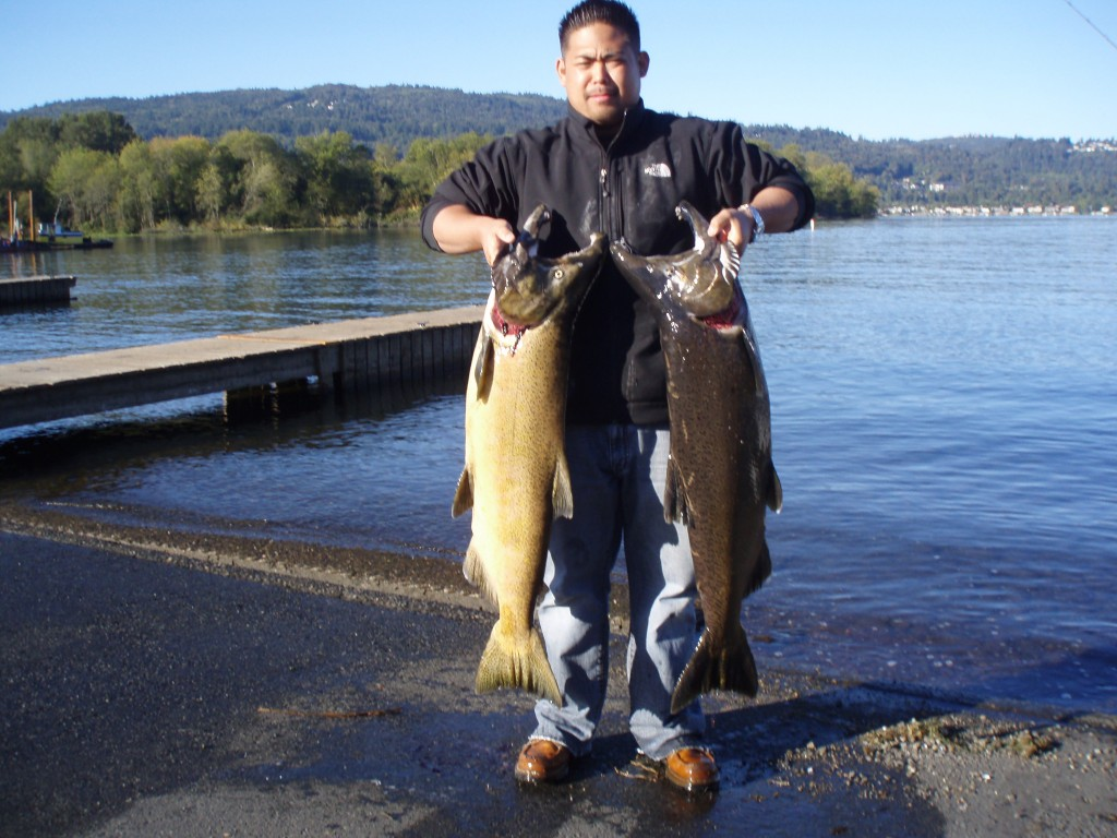 Tall tails guide service fishing report for Snohomish river fishing report