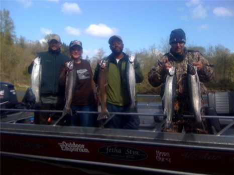 A few limits of Steelhead
