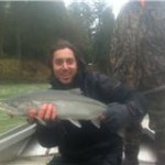 Chris O. Cowlitz steelhead
