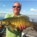 Daddy-O with a LARGE smallmouth