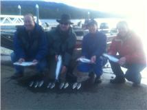 Grant Carr and crew searun cuttties