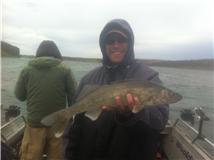 Jared's 1st walleye