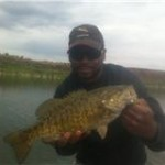 Jerome with a Smallmouth Bass
