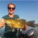 Kim-Bob and a sunshine smallie