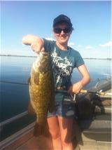 Kimberly potholes smallmouth bass may 2011