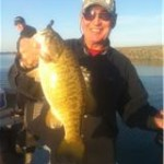 Mike Jones with a nice Potholes Smallmouth